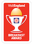 Visit England Good Breakfast Award