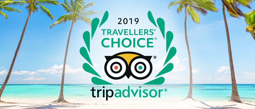 TripAdvisor 2019 Travellers' Choice Award